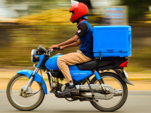 Motor Bike Rider Tracking
